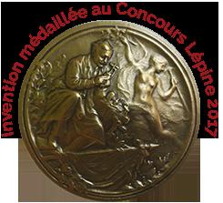 Mélandrier médaillé au Concours Lépine 2017